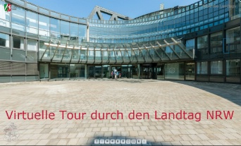 Virtuelle Tour durch den Landtag