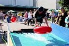 Wheel-Sliding Contest